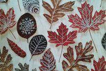 leaves arts