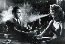 Film noir / Those awesomely fabulous old film where you can sense what you are watching.