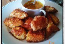 Poulet et autres volailles / des plats à base de poulet , dinde ou canard