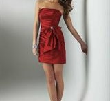 Red Prom Dresses / by Tina Razzell