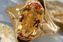 Colored Stone Jewelry / Sapphire, Ruby, Emerald, Tanzanite, Amethyst, Citrine, Aquamarine, Tourmaline, Blue Topaz, Topaz, Iolite, Garnet, Peridot, Alexandrite, Zircon, and other stones normally transparent and faceted.