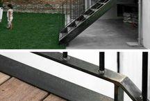 Haustür & treppe