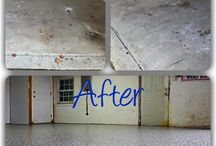 Maryland Garage Floor Coatings / A garage floor doesn't have to be dull and dusty.