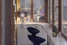 Балконы, веранды