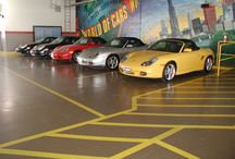 Flooring - Industrial / Slip resistant, chemical resistant and anti-bacterial finishes available.  Easy to maintain.