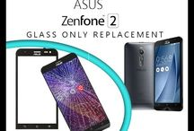 Glass screen replacement for cellphones