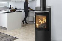 Woodburning Stoves in Kitchens