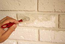 tijolinhos de isopor para parede