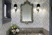 BC powder room / by Kate Gladchun