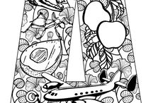 Letter Coloring Pages / Letter Coloring Page fun!