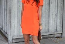 Color Block # orange