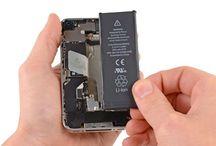 Sustitución de la batería del iPhone 4S / Para sustituir la batería del iPhone 4s, siga los pasos siguientes.