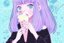 shiroi room / manga art