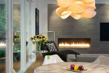 Modern Lighting Interiors / Interior vignettes which showcase the best modern lighting designs from leading names—including Tom Dixon, LZF, and FLOS. / by 2Modern