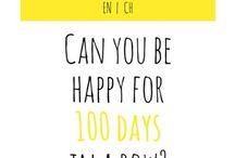 100 Happy Days Challenge Ideas