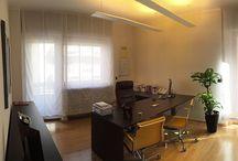 Sinergie Pescara / Non solo #retail: Uno Fabbrica è arredamento anche per uffici moderni e luminosi. Nei nostri pin, il lavoro realizzato per Sinergie Pescara.