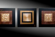 Originale Malerei in Acryl und Mischtechnik auf Leinwand