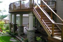 tarasy balkony