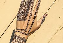 henna tattoos❤