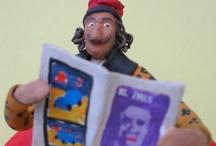 NiNOTS (Artesanía) / Customized peper mache figurines. Would you like to comand one?