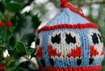 Knitted Campervan Baubles - Festive Dub Balls / A gallery of Festive Campervan Baubles!  If you've got a camper van bauble photo to share just follow the board so we can invite you to the group then you can join in the fun!