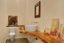 Powder Room Impact -Sophia Shibles Interior Design / interior design of powder rooms