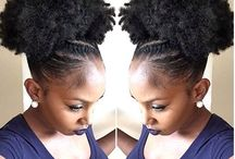 Natural Hair Updo's| Inspiration / When in doubt,puff it out!!