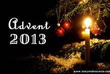 Christmas Decorating/Plans/Advent ideas