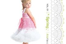 Imagical Seasons™ Crochet Patterns Books / My crochet pattern books series: Imagical Seasons™: Crochet Couture for Kids 2-12 by Alla Koval