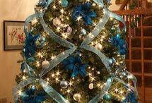 Entryway Christmas tree ideas