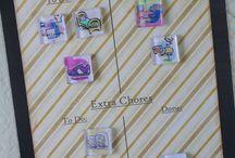 chore chart / by Karen Eliason