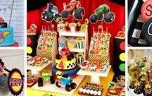 Boy party Blaze Monster Machine