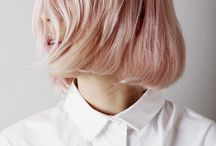 hair. / Life is too short to have boring hair.