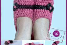 Crochet - slippers