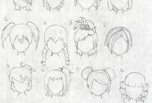 cabelo infantil desenho