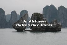 Vietnam, Timeless Charm / Click on any of the pins to read full posts of my experience on a boat in Halong Bay, and in the vibrant city of Ho Chi Minh City (Saigon).