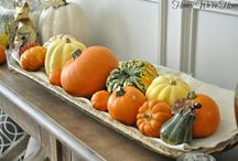 Fall : Mini pumpkin decorating ideas