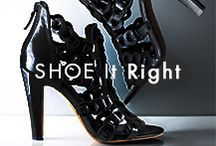 Shoe It Right / With the right pair of shoes a woman can conquer the world.  / by Elie Tahari