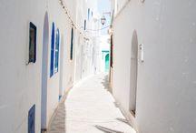 Moroccan/ Blue Master Bedroom