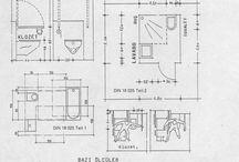Engelliler ve Mimari / #engelli #mimari standartları, normlar ve #ölçüler