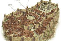 mapas,ideas y esquemas para juegos de rol