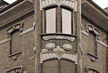 Bowindow Art Nouveau