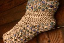 """tricot technique Thrummed knitting / technique pour tricoter avec une """"doublure épaisse"""""""