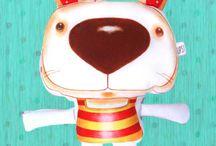 Mis Muñecas de tela / Ups, Objetos Ilustrados, ventas por mayor y menor. Consultas a solocolo@gmail.com