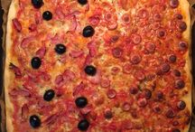 Pizza und Focaccia / Die typische italienische Rezepte, einfach und schnell, auch die Spezialitäten