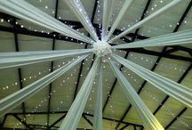 Wedding Decor - Roof draping