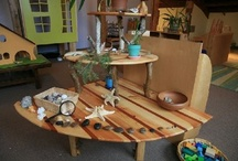 ECE Nature Play / natural materials - connecting young children to nature in early childhood settings / by Jennifer Kable