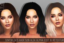 Sims fryzury