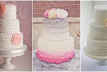 Wedding cakes in 2014 / Everything is trending - even Wedding Cakes! Take a look at some 2014 Wedding Cake ideas
