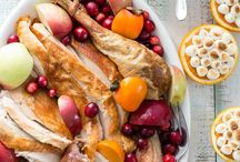 Thanksgiving Holiday Table / Roast the perfect turkey and serve up the most delicious side dishes for Thanksgiving. All the recipes you need to be the hostess with the mostess.